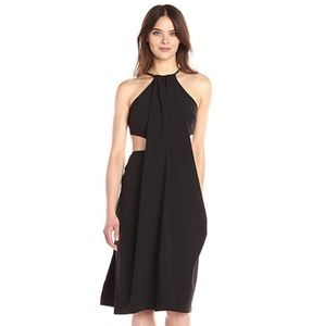 NWT Halston Heritage High Neck Dress w/Cut Outs